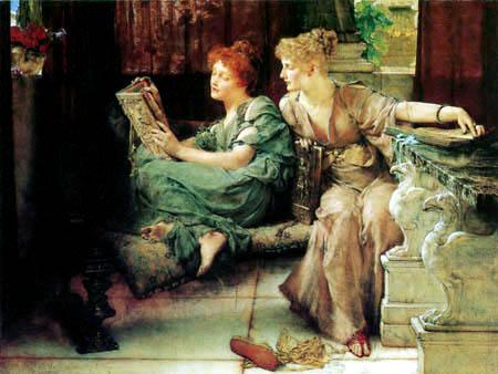 Sir Lawrence Alma-Tadema - Der Vergleich