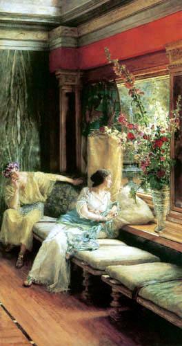 Sir Lawrence Alma-Tadema - Vergebliches Warten