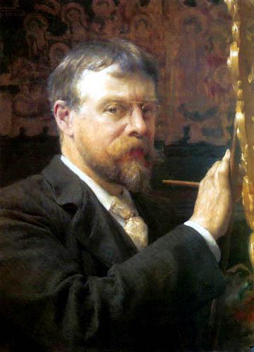 Sir Lawrence Alma-Tadema - Selbstbildnis