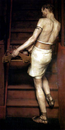 Sir Lawrence Alma-Tadema - Ein römischer Töpfer