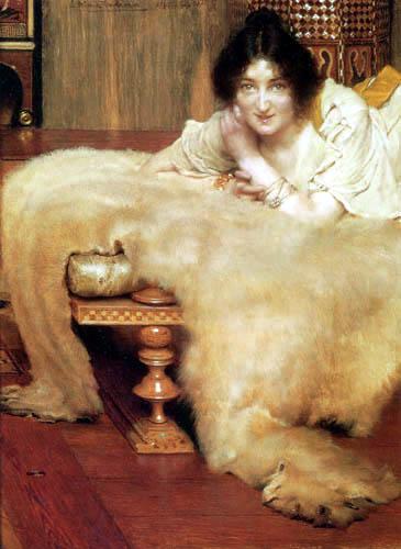 Sir Lawrence Alma-Tadema - Eine gute Zuhörerin