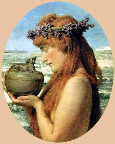 Sir Lawrence Alma-Tadema - Pandora