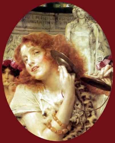 Sir Lawrence Alma-Tadema - Bacchante