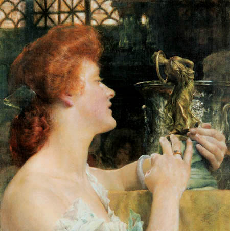 Sir Lawrence Alma-Tadema - L'heure d'or