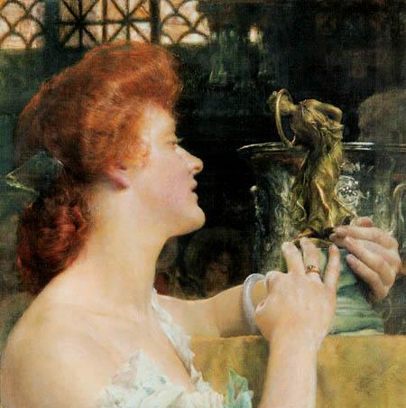 Sir Lawrence Alma-Tadema - The golden hour