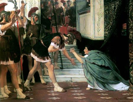 Sir Lawrence Alma-Tadema - Claudis Verkündigung zum Imperator