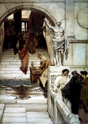 Sir Lawrence Alma-Tadema - Eine Audienz bei Agrippas
