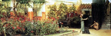 Sir Lawrence Alma-Tadema - Ein herzliches Willkommen