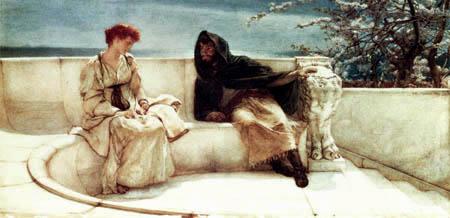 Sir Lawrence Alma-Tadema - Die Erklärung - Eine alte Geschichte