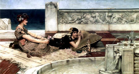 Sir Lawrence Alma-Tadema - Love