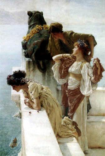 Sir Lawrence Alma-Tadema - Ein idealer Ort