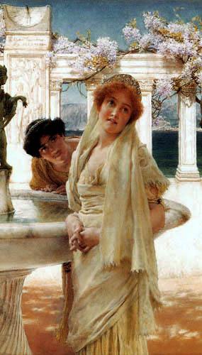 Sir Lawrence Alma-Tadema - Unterschiedliche Ansichten