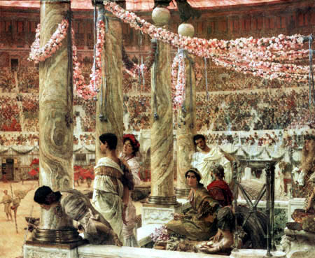 Sir Lawrence Alma-Tadema - Caracalla and Geta