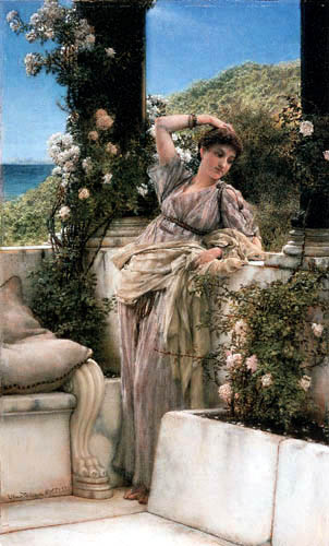 Sir Lawrence Alma-Tadema - The rose of all roses