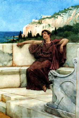 Sir Lawrence Alma-Tadema - Dulces sueños
