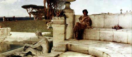 Sir Lawrence Alma-Tadema - Die Stimme des Frühlings