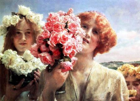 Sir Lawrence Alma-Tadema - Der Sommer