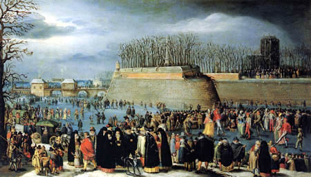 Denis van Alsloot - Maskenball auf dem Eis