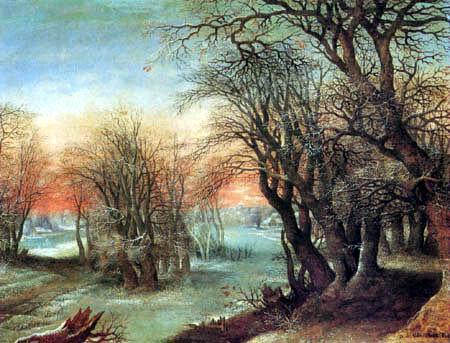 Denis van Alsloot - Winter landscape