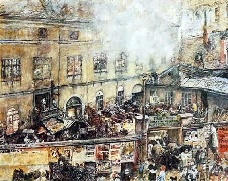 Rudolf von Alt - The Iron Foundry Kitschelt in Vienna