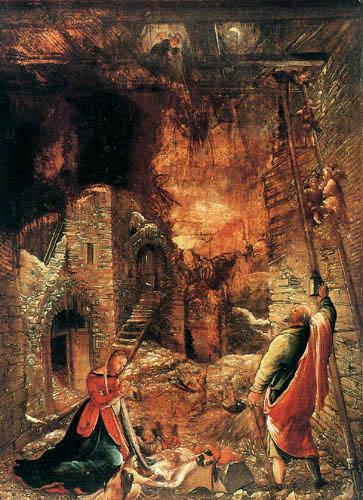 Albrecht Altdorfer - Die Geburt Christi