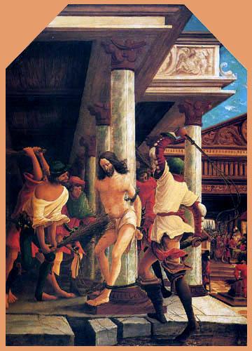 Albrecht Altdorfer - La flagellation du Christ