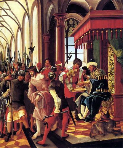 Albrecht Altdorfer - Washing the Pilatus