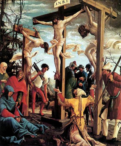 Albrecht Altdorfer - La Crucifixion