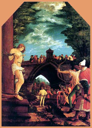 Albrecht Altdorfer - Das Martyrium des hl. Sebastian