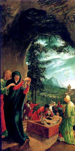 Albrecht Altdorfer - The Entombment of Christ