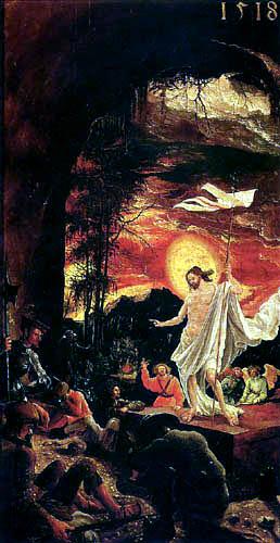 Albrecht Altdorfer - La résurrection du Christ