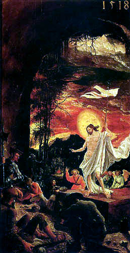 Albrecht Altdorfer - The Resurrection of Christ
