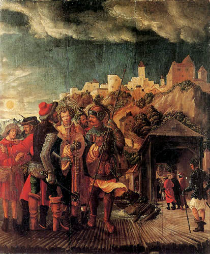 Albrecht Altdorfer - The capture of St. Florian