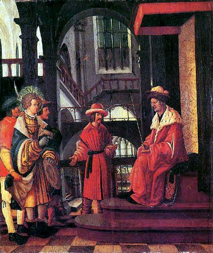 Albrecht Altdorfer - Saint Florian