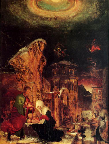 Albrecht Altdorfer - Birth of Jesus
