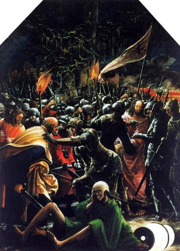 Albrecht Altdorfer - Capture du Christ