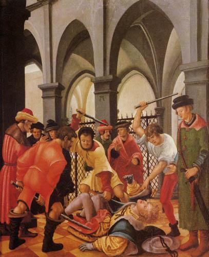 Albrecht Altdorfer - Martyrdom of Saint Florian