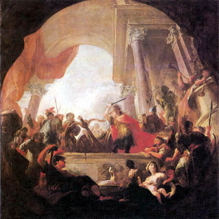 Martin Altomonte (Hohenberg) - Alexander the Great