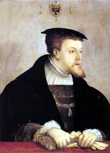 Christoph Amberger - Portrait of Carl V