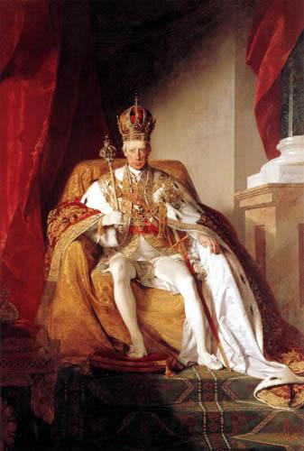 Friedrich von Amerling - Kaiser Franz I. von Östrreich