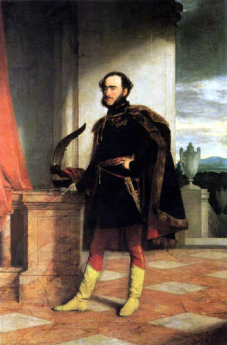 Friedrich von Amerling - Graf István Széchenyi