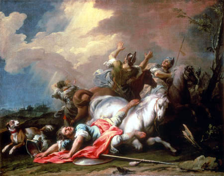 Jacopo (Giacomo) Amigoni - The conversion of Paulus