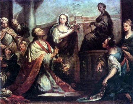 Jacopo (Giacomo) Amigoni - Idolism of Salomo