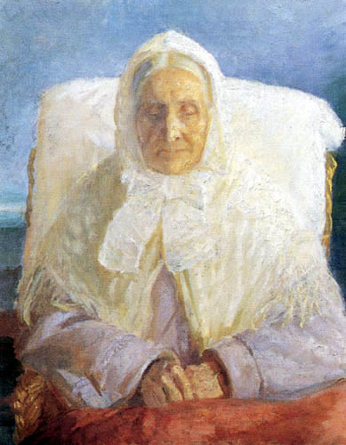 Anna Ancher - La mère de Anna Ancher
