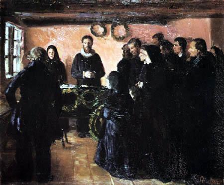 Anna Ancher - Das Begräbnis