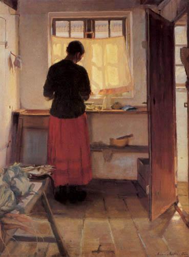 Anna Ancher - La femme dans la cuisine