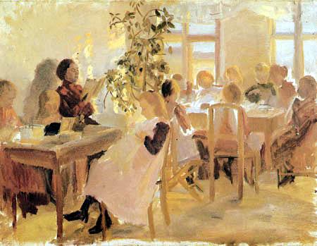 Anna Ancher - Une école de couture à Skagen