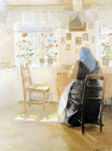 Anna Ancher - Sunshine in the room