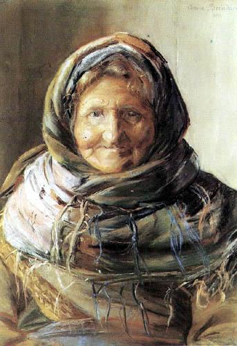 Anna Ancher - Stine Bollerhus in Skagen