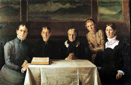 Michael Ancher - Family picture